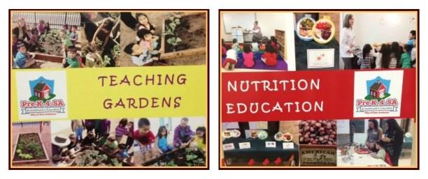 Selrico teaching gardens & nutrition education