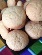 mini vegan orange muffins recipe
