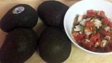 avocados and pico de gallo - spicy guacamole recipe