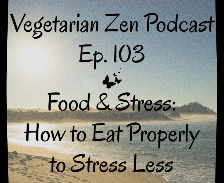 VZ103 - Food & Stress - How to Eat Properly to Stress Less https://www.vegetarianzen.com