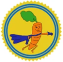 Carrot Crusader Patreon badge https://www.vegetarianzen.com