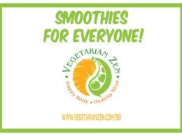 vegetarian zen podcast 193 - smoothies