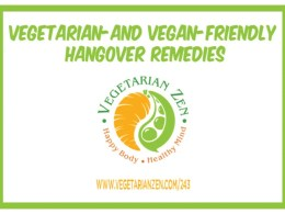 vegetarian zen podcast episode 243 - vegetarian- and vegan-friendly hangover remedies