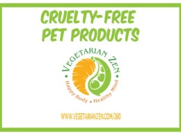vegetarian zen podcast episode 260 - cruelty-free pet products