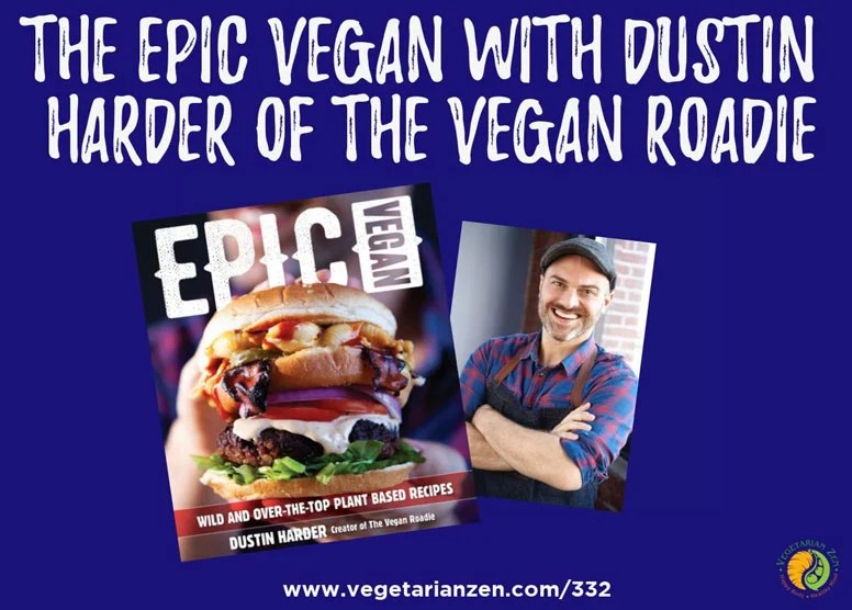 epic vegan book and author dustin harder