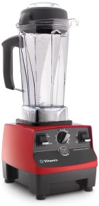 red vitamix blender