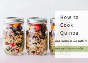 jars of quinoa