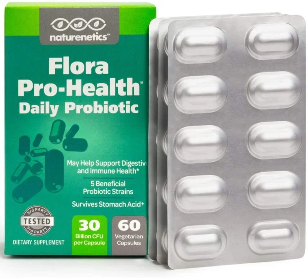 Flora Pro-Health High Strength Probiotic Supplement