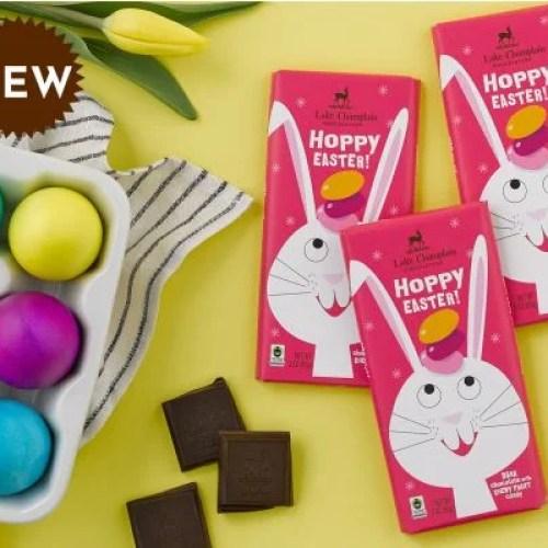 Hoppy Easter Chocolate Candy Bar | Lake Champlain Chocolates