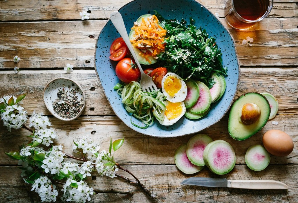 a bowl of whole foods part of the whole30 diet
