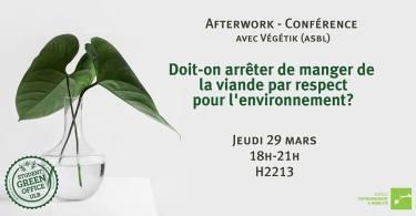 conférence ULB 29 mars