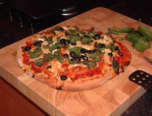 Pizza de verduras
