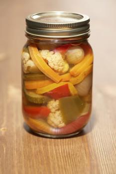 Pickles con mostaza  Recetas Vegetarianas  Vegetomania