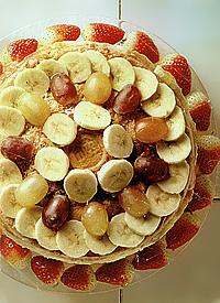 Tarta de bananas