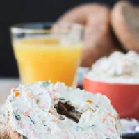 Veggie Cream Cheese Spread (Dairy Free)