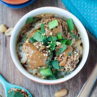 Thai Quinoa Meatballs from Minimalist Baker's Everyday Cooking and a Giveaway!