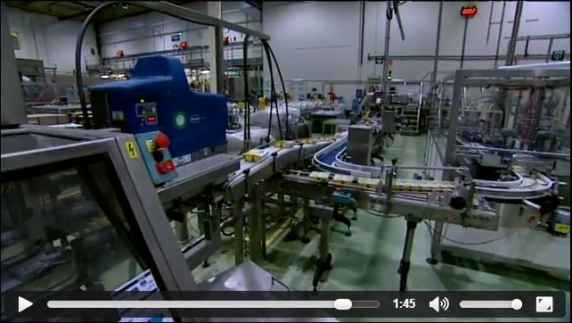 screenshot from the promo movie about Alpro, website Focus TV