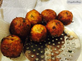 Kofta Balls right out of the pan