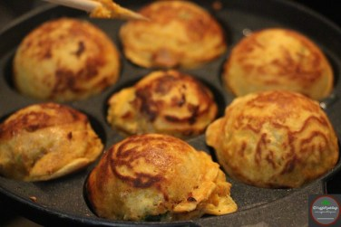Cooking in the appe pan