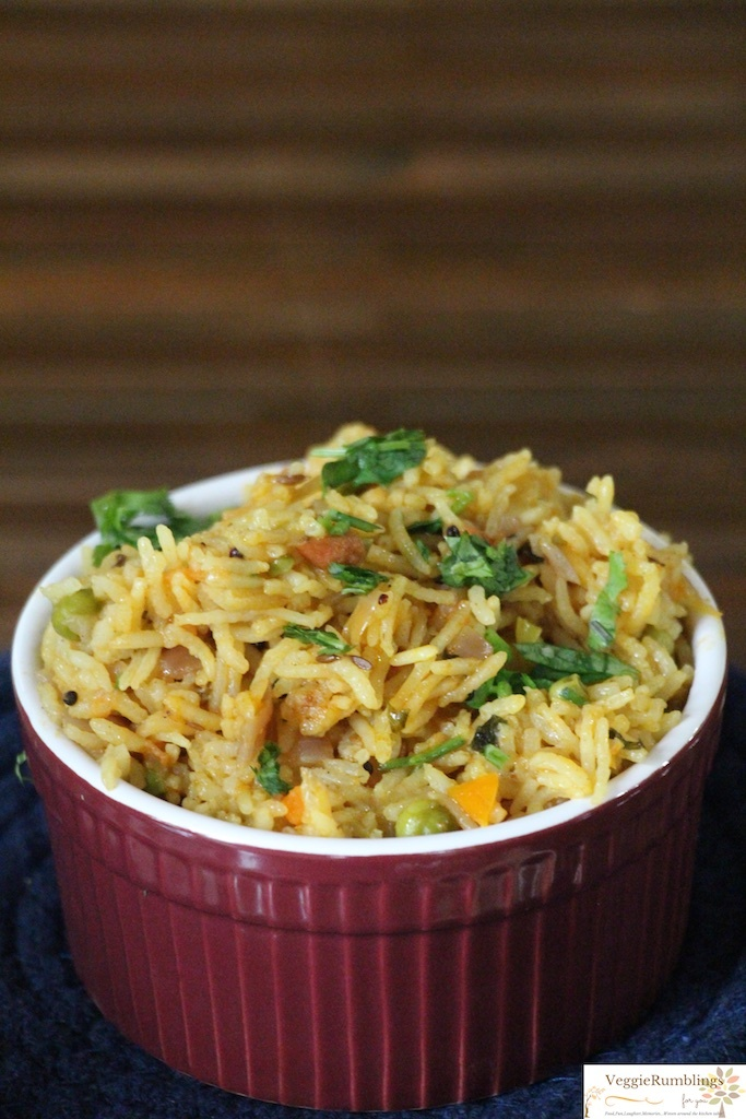 Perfect cooked and fluffy rice - rich in taste simple in prep