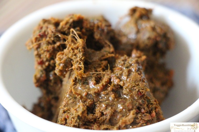 A thick spicy chutney/relish/thogayal chock full of nutrients !