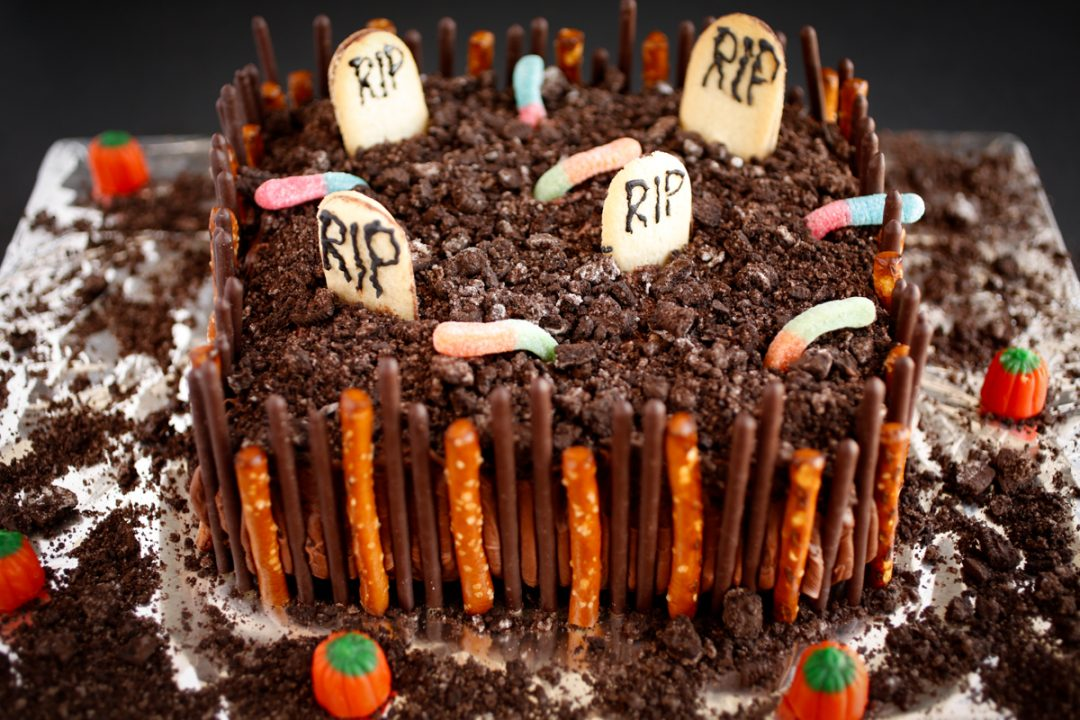 The Chocolate Cake That Is Spooky Levels Of Good Veggies By