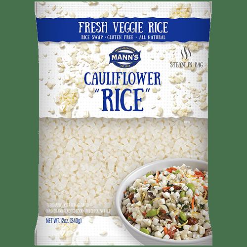 cauliflower rice mann s fresh