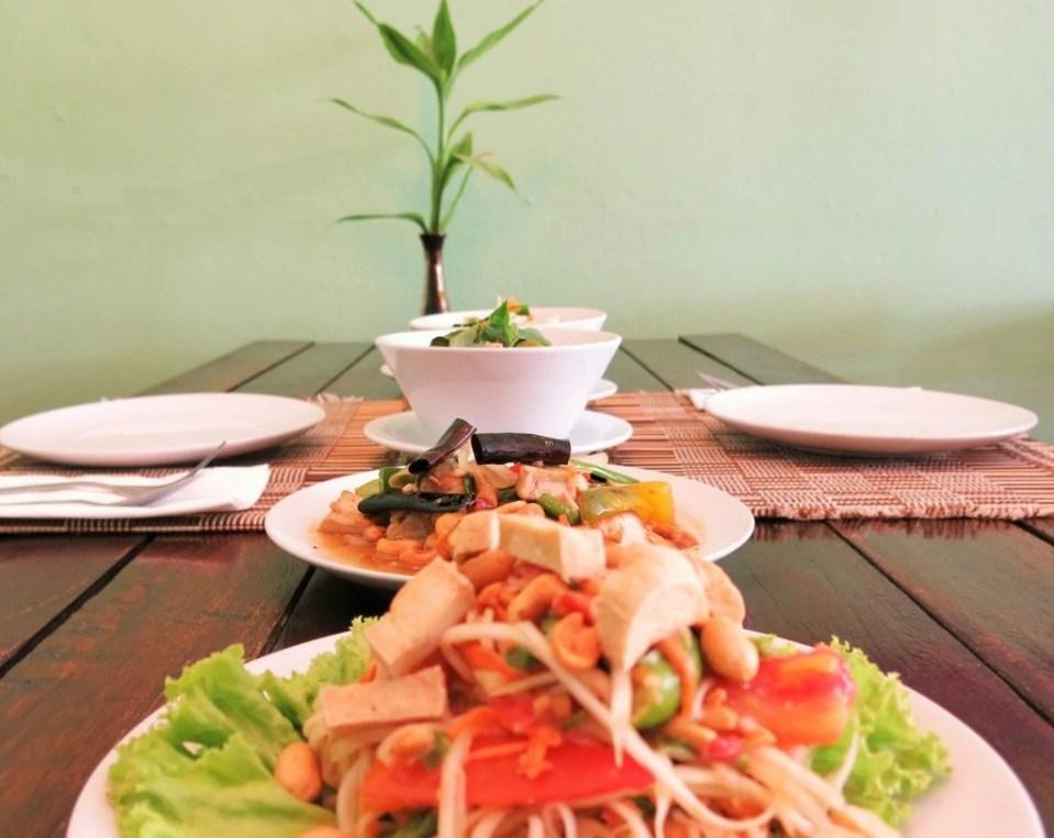 Vegan Thai Cooking Class Chiang Mai