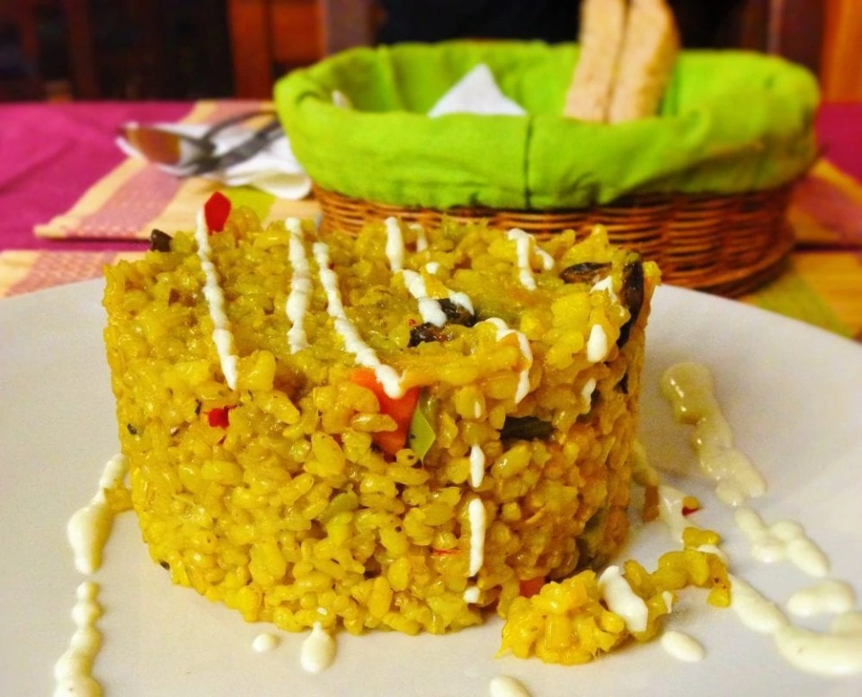 Vegan Spanish Pallela
