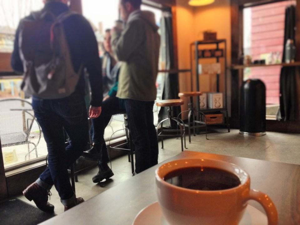Saint Simon Coffee Shop Portland, Oregon
