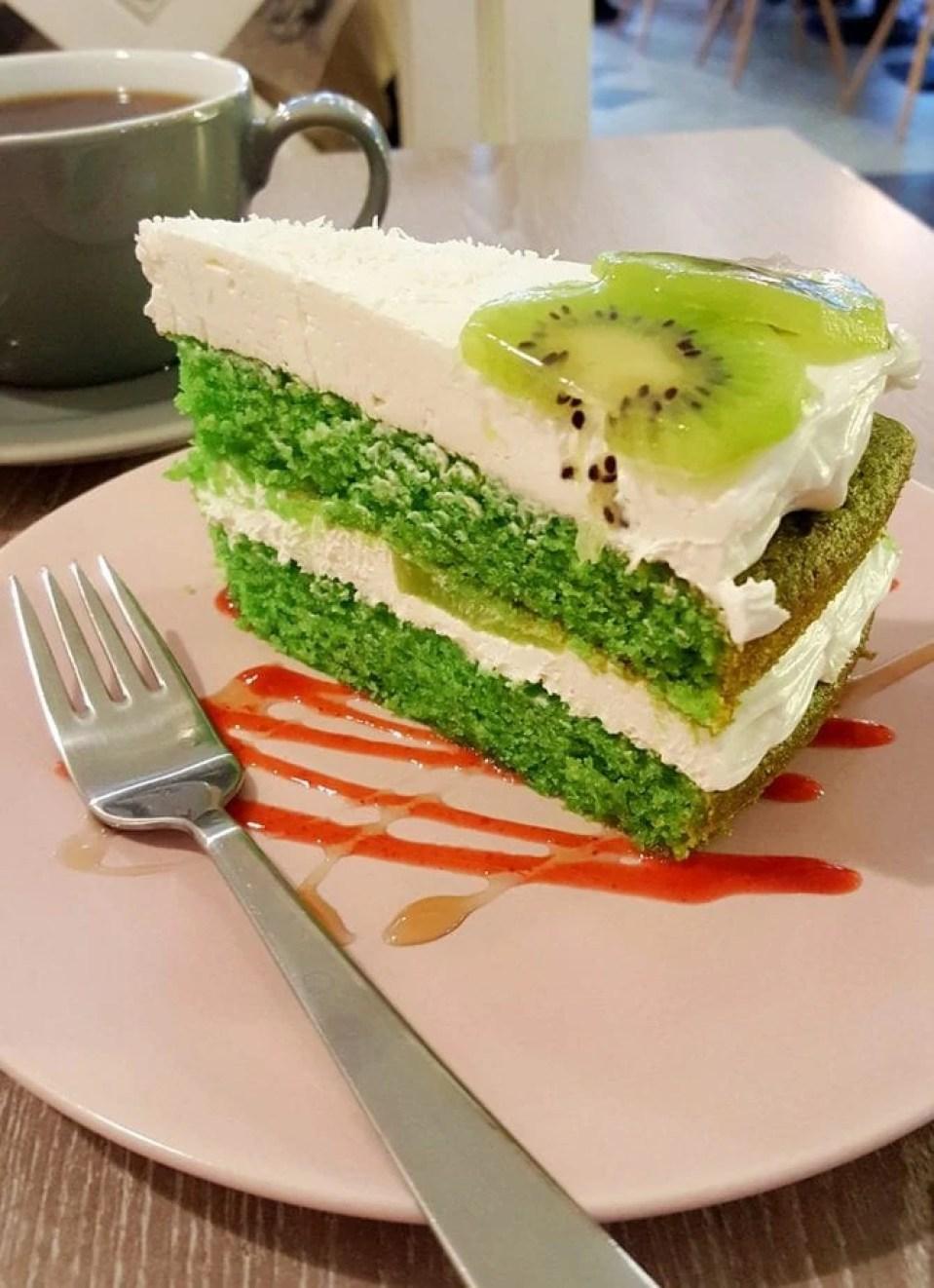 Forrest Bistro Vegan Cake in Prague