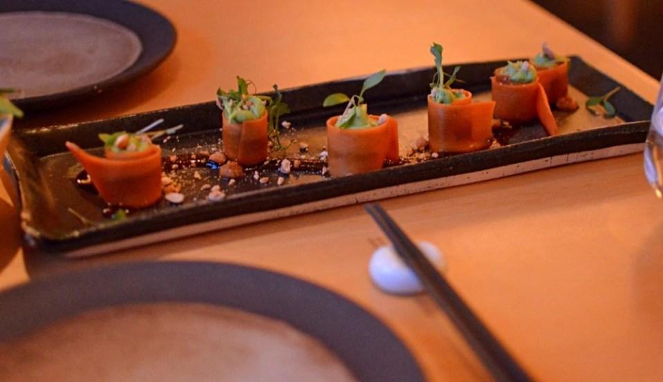 vegan food in Munich at emiko