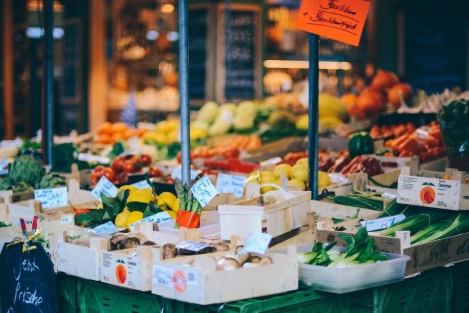 vegan options at Victuals Market Munich