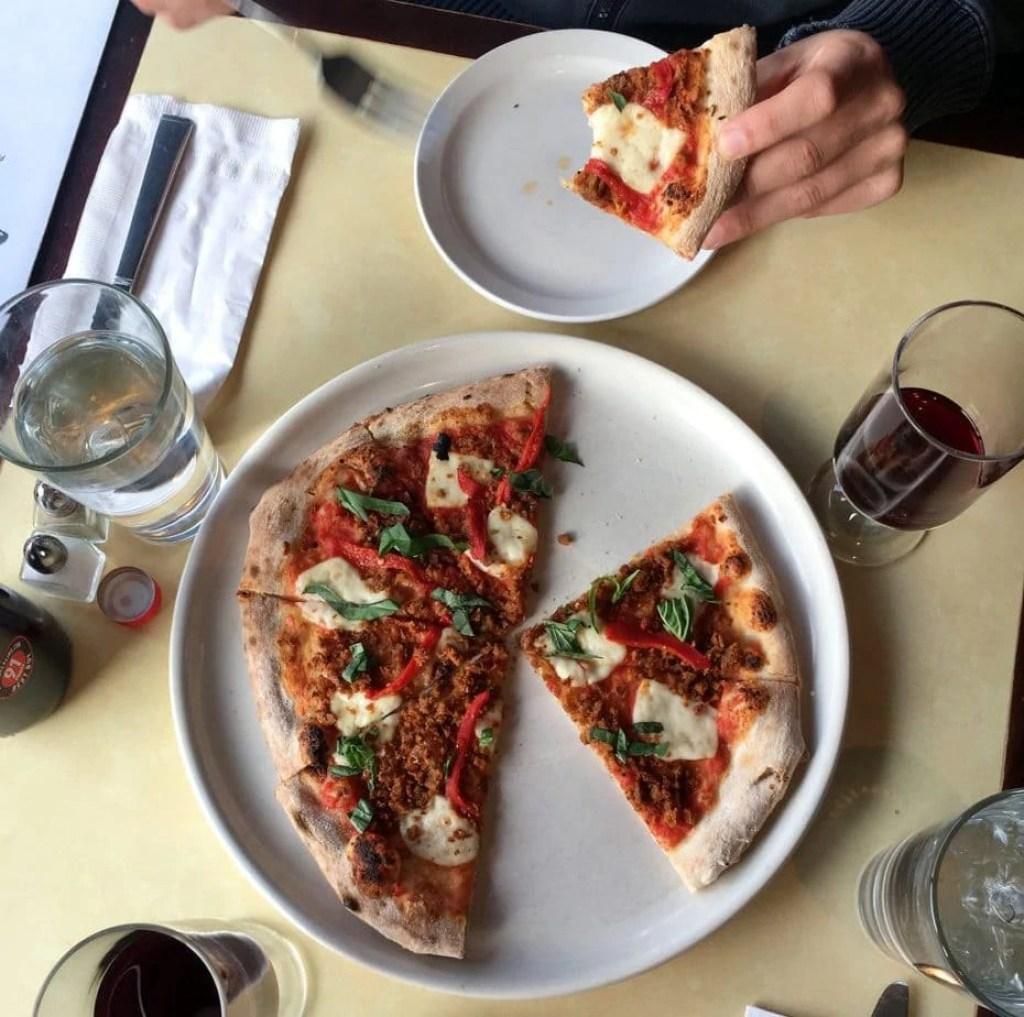 Vegan Pizza from Pizza Nea in Minneapolis