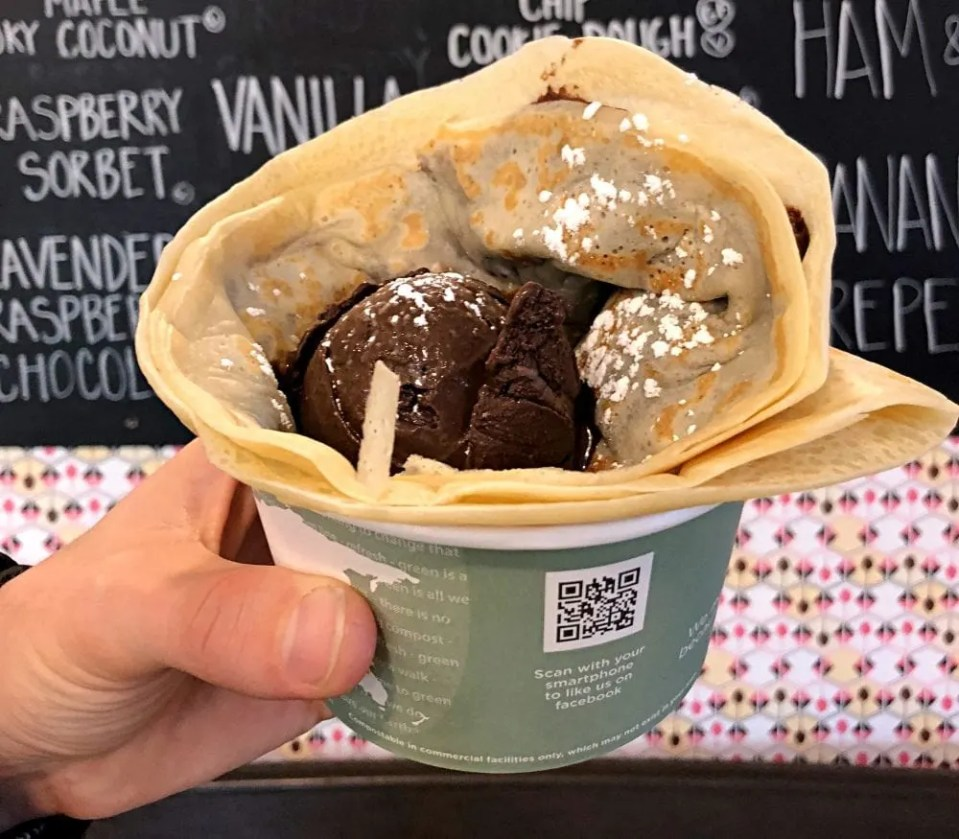 Crepe and Spoon Vegan Crepes in Minnepolis