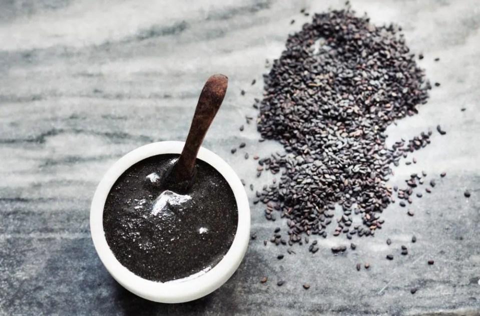 vegan black tahini