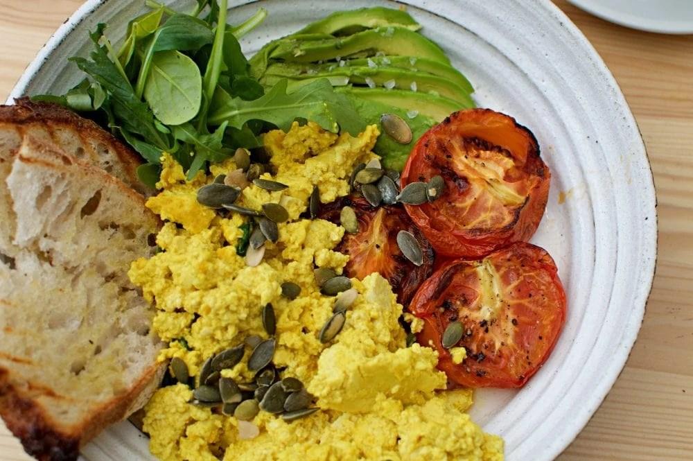 vegan breakfast at Jord in Malmo