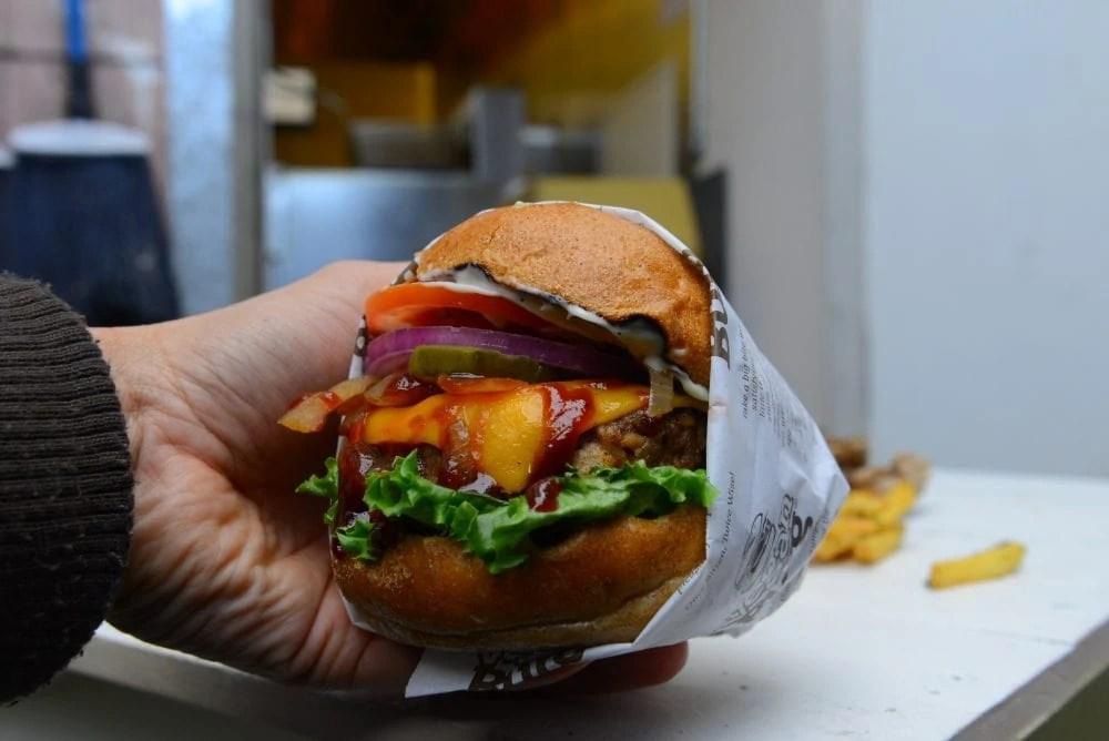 VeganBurg Vegan Restaurant in San Francisco