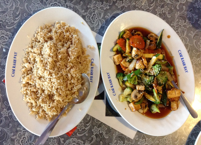 Mixed Vegetables With Brown Rice
