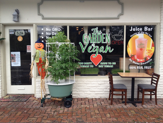 Garden of Vegan in Delray Beach, FL, Offers Vegan, Gluten Free Fare With NO GMO's!!! Unfortunately this Restaurant Has Closed.