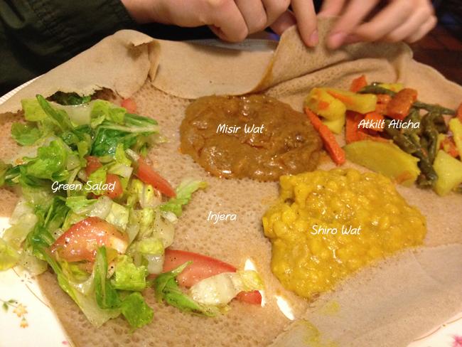 Redi-et Vegetarian Platter