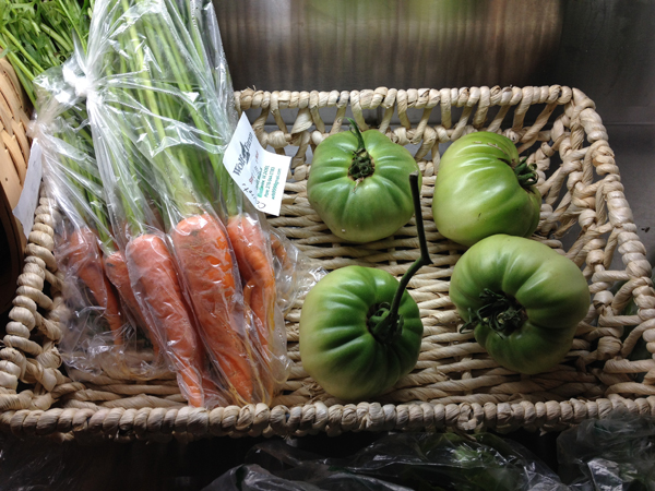 Carrots and Green Tomatoes
