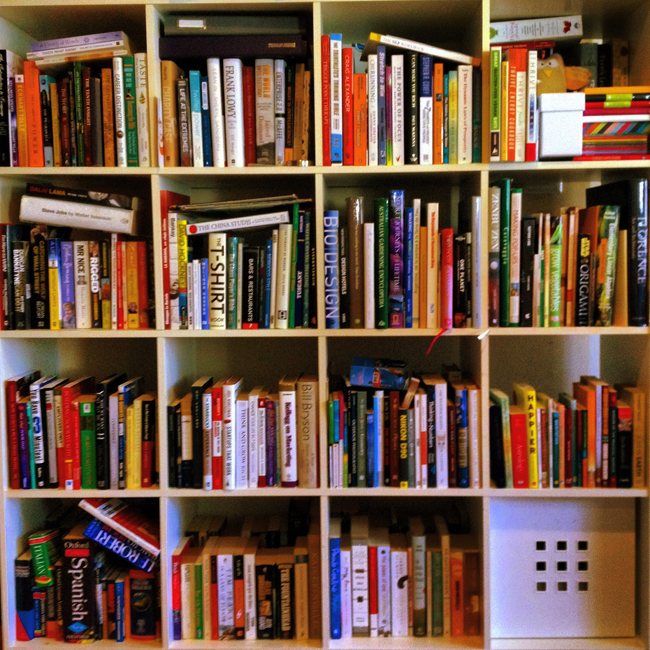 Kate Strong: Book Shelf