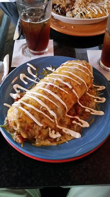 Mossfire Grill Burrito