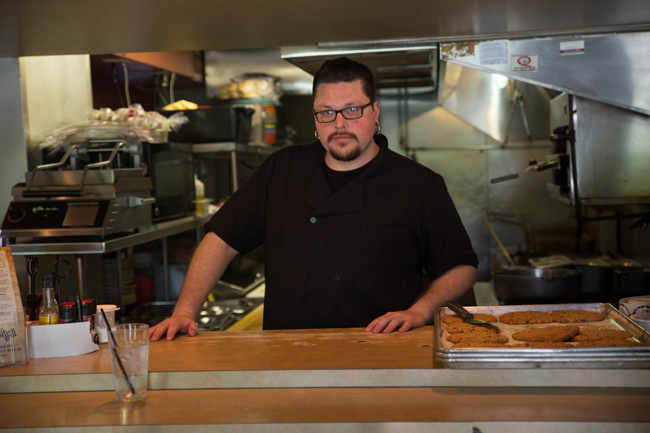 Mossfire Grill Executive Chef, Jonathan Dwelle