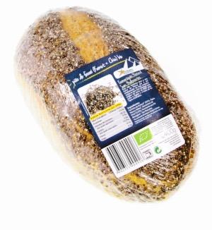 Pão do Faraó (Kamut+Chia)