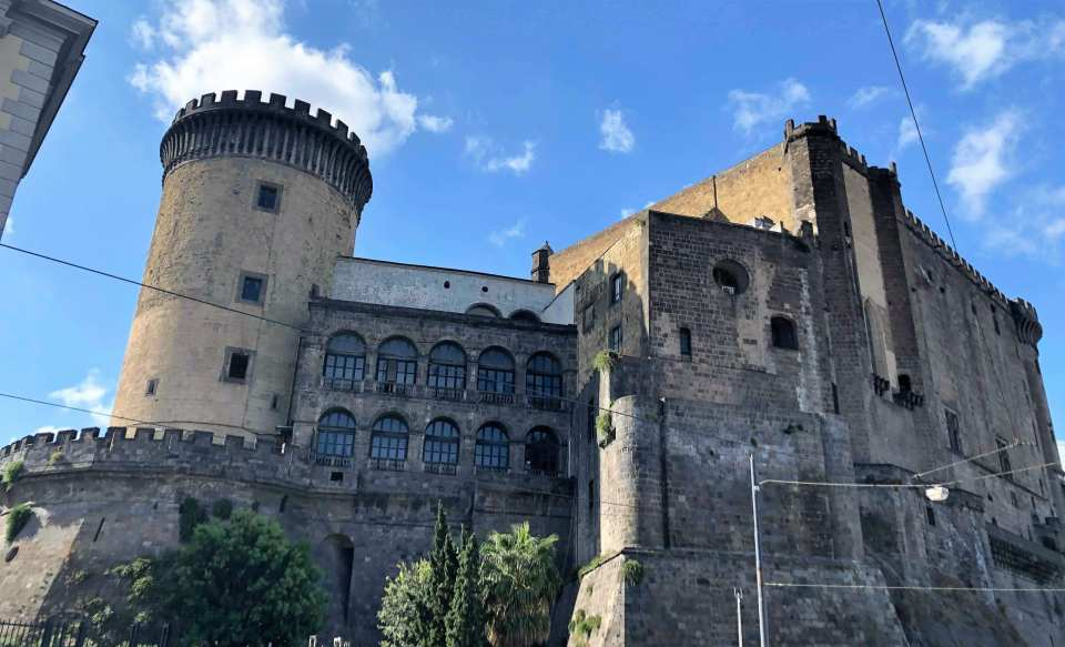 Things to do in Naples Italy - Castle on Piazza Municipio