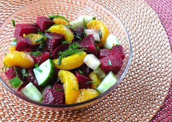 Beet and orange salad recipe