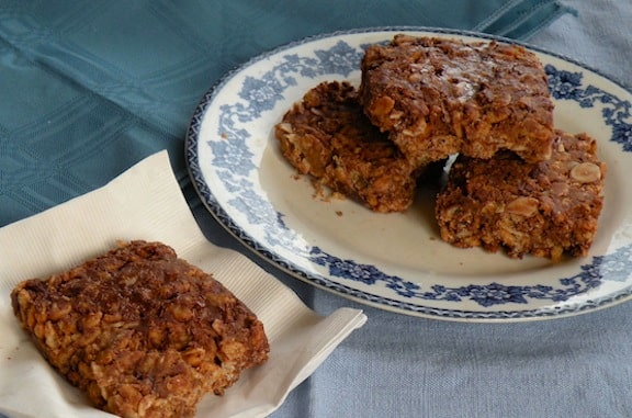 crispy rice and almond treats recipe by chef beverly bennet