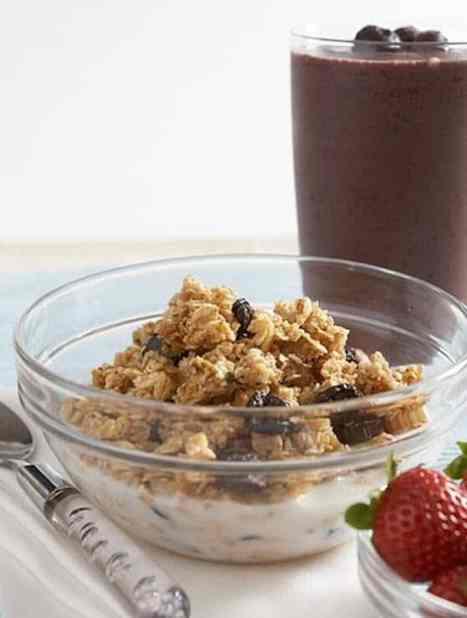 Homemade hemp granola recipe